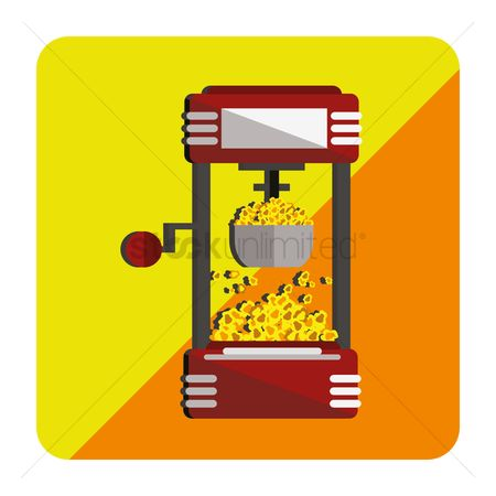 Makers : Popcorn machine