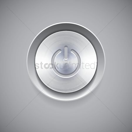 Power button : Power icon