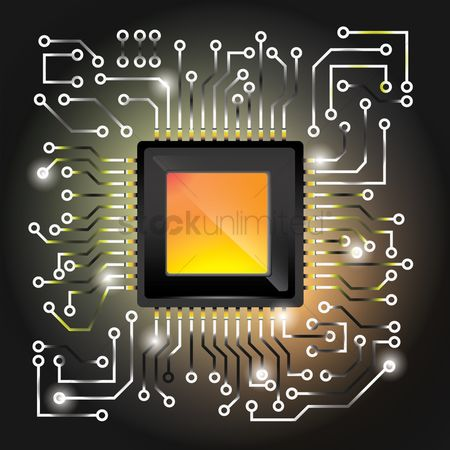 Technicals : Processor on circuit board design