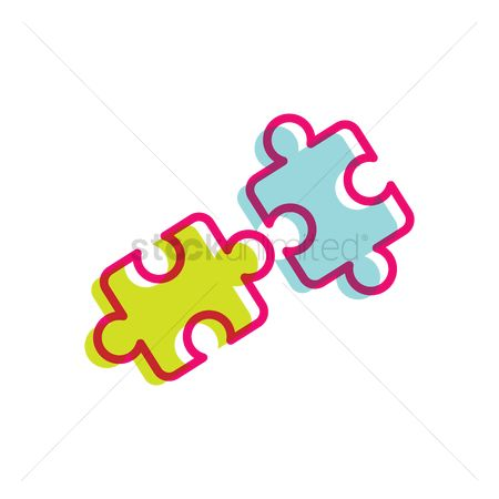 Jigsaw : Puzzle pieces