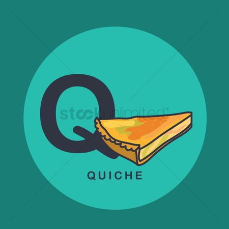 Junk food : Q for quiche