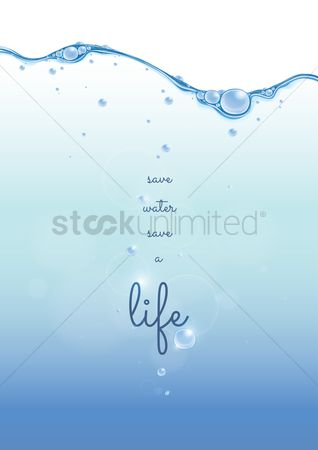 Messages : Quote on water conservation