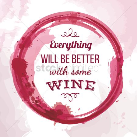 Beverage : Quote on wine