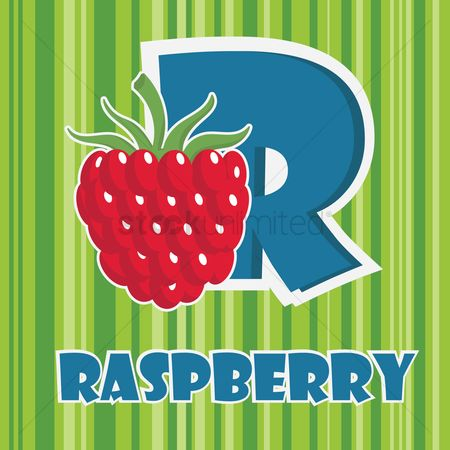 Nutritions : R for raspberry