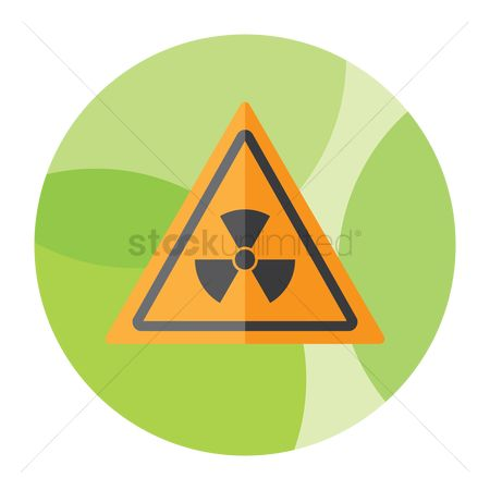 Beware : Radiation sign