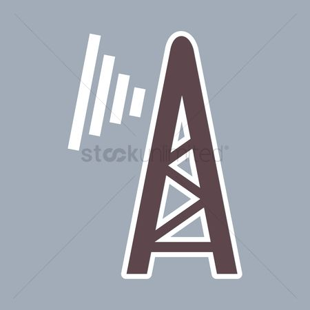 Broadcasting : Radio tower