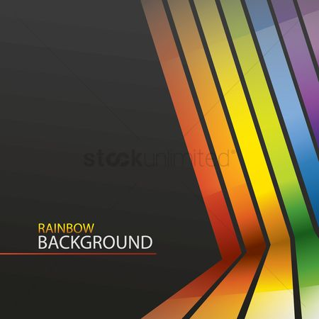 Wallpaper : Rainbow background