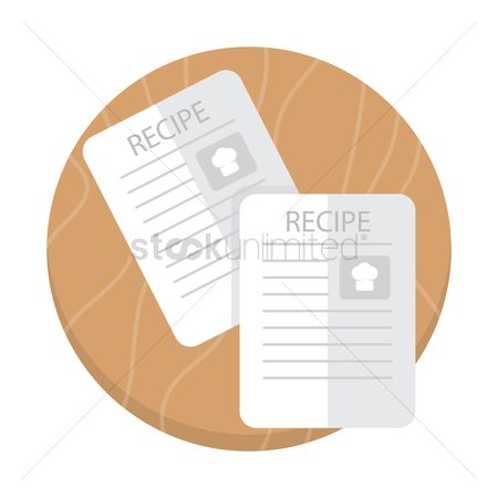 Cook : Recipe sheets