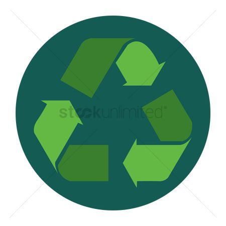Pollutions : Recycle symbol