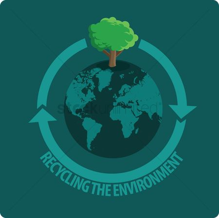 Save trees : Recycling the environment