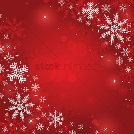 Holiday : Red christmas background