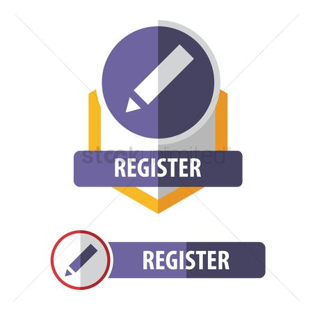Submit : Register button