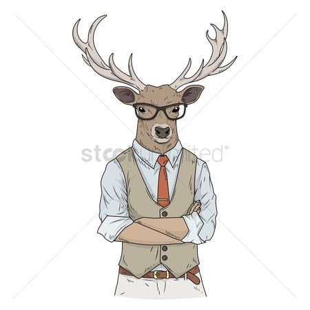Accessories : Reindeer character
