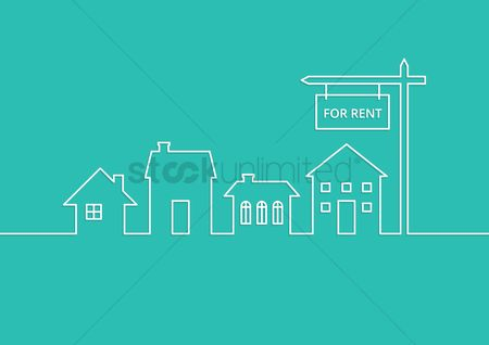 Market : Rental advertisement template