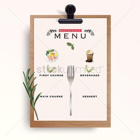 1959998 Dessert Menu : Restaurant Menu Template Design  Dessert Menu Template