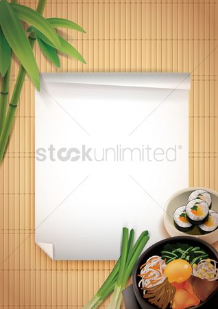 Signages : Restaurant menu template