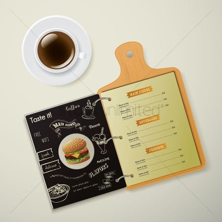 Dishes : Restaurant menu