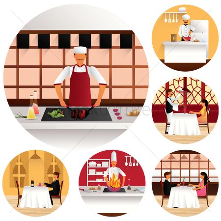 Plates : Restaurant theme collection