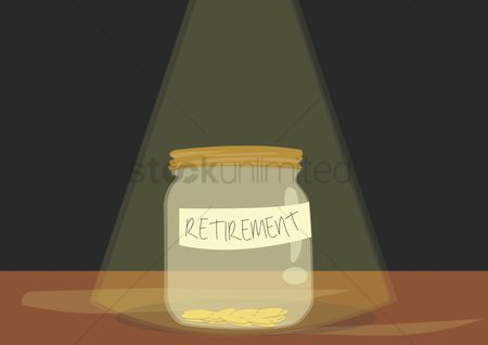 Jar : Retirement jar