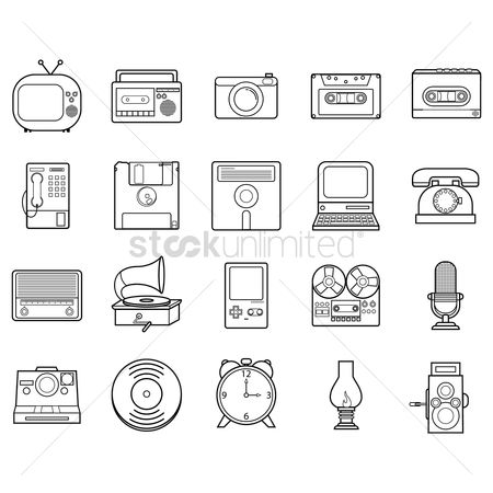 Microphone : Retro icons