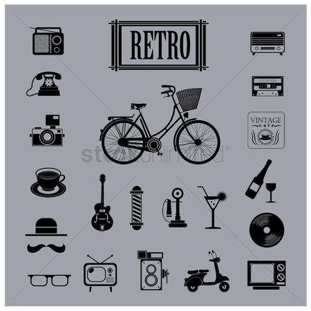 Coffee : Retro icons