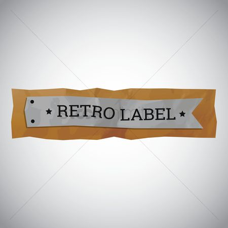 Oldfashioned : Retro label