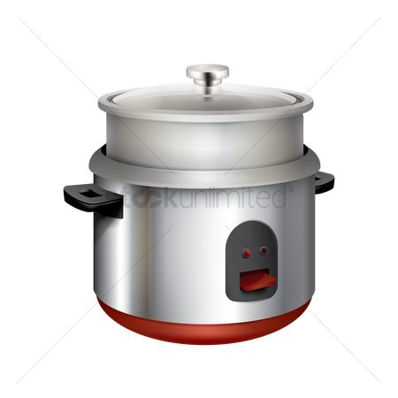 Cook : Rice cooker