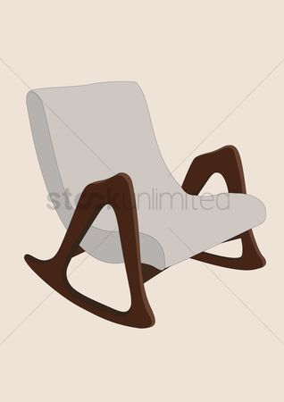 1487726 Slope Chair : Rocking Chair