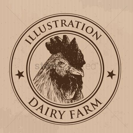 Dairy : Rooster label