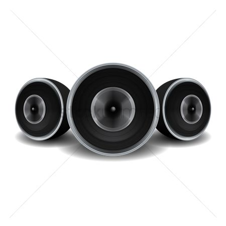 Noisy : Round speakers
