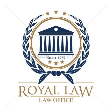 Office  building : Royal law logo element