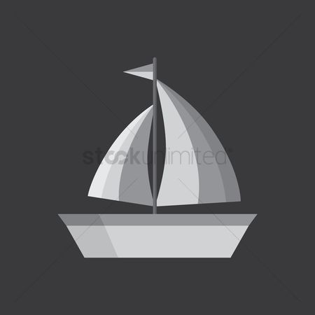 Vessel : Sailing boat