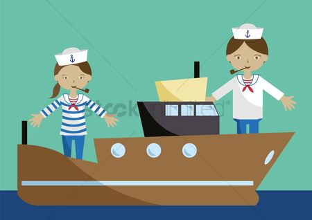 Sailors : Sailor on boats