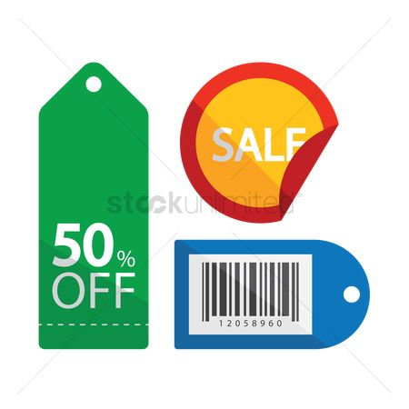 Store : Sale discount and special offer tags