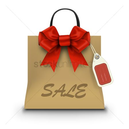 Retail : Sale shopping bag