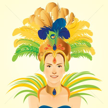 Headdress : Samba dancer