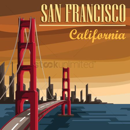 Tourist attractions : San francisco