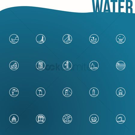 Faucets : Save water poster