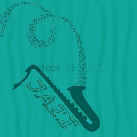 Brass : Saxophone with jazz concept