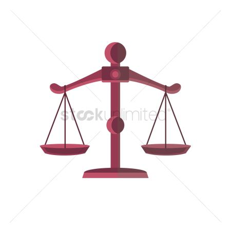 Weight : Scale of justice