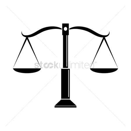Measure : Scales of justice icon