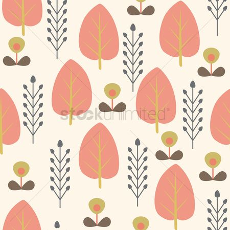 Wheats : Scandinavian background design