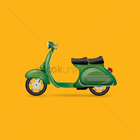 Motorcycles : Scooter