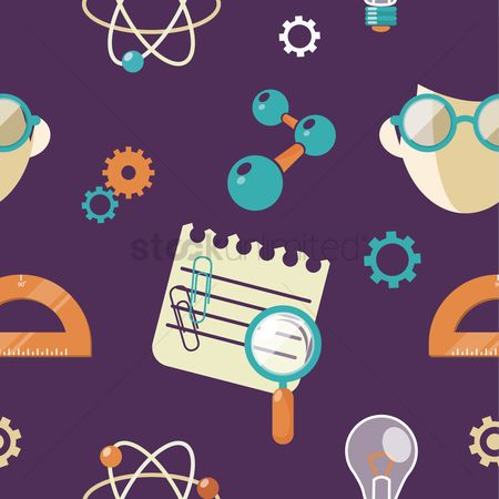 Molecules : Seamless pattern of education