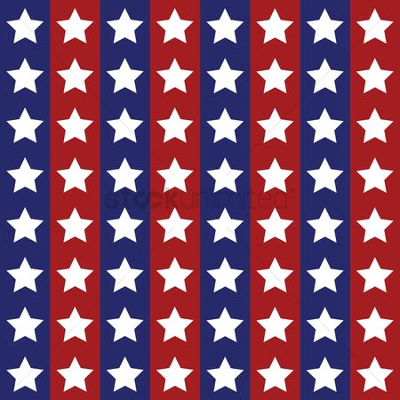 United states : Seamless star background