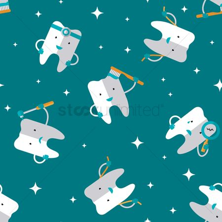 Free Dental Wallpaper Stock Vectors Stockunlimited
