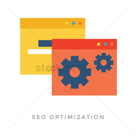 Cogwheels : Seo optimization concept