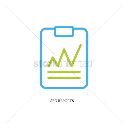 Multimedias : Seo reports concept