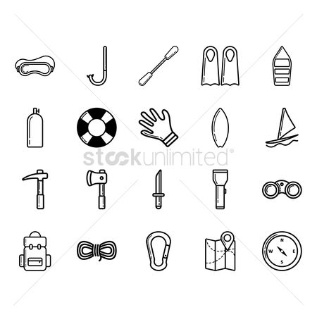 Paddle : Set of adventures icon
