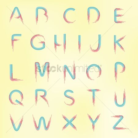Learn : Set of alphabets
